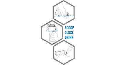 Scoop, Close, Drink