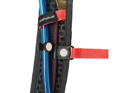 Waist belt zip pockets