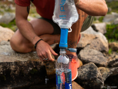 Platypus QuickDraw™ Microfilter System - Fill and Squeeze
