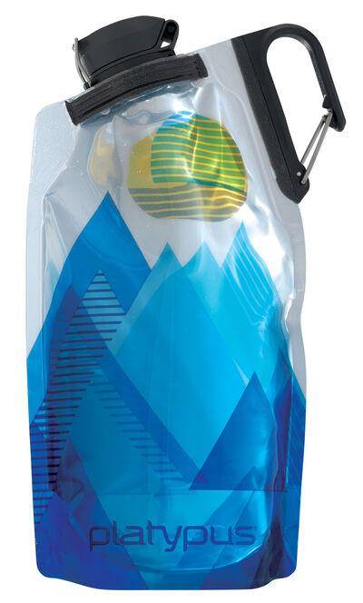PLATYPUS DUOLOCK SOFTBOTTLE COMPACT FLEXIBLE WATER BOTTLE TASTE-FREE BPA FREE